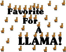 Free Llama Badges for everyone by AlphonseElric2016