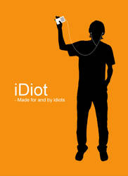 iPod inspired t-shirt design. by Akarno