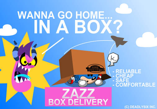 Zazz Box Delivery by MarkProductions