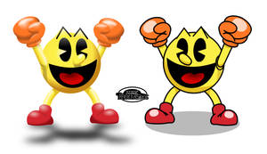 Pac-Man - 3D-ish and classic by MarkProductions