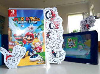 Mario+Rabbids Kingdom Battle is neat by MarkProductions