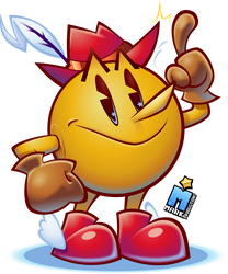 PAC-LAND FEVER [Pac-Man Fanart] by MarkProductions