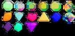 :MMD GemStone Pack#1: Download by LilMissLillie