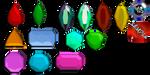 :MMD GemStone Pack#2: Download by LilMissLillie