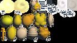 :MMD GemStone Pack#4: Pearl Addition *DL* by LilMissLillie