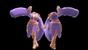 .:MMD DL:. Harlot Kimono by LilMissLillie