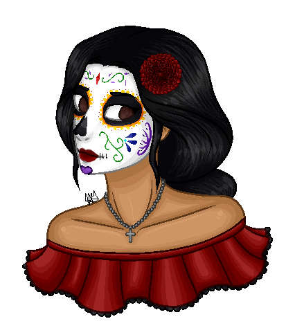 Raffle Prize: Skele 1 of 2 by HaileyWailey