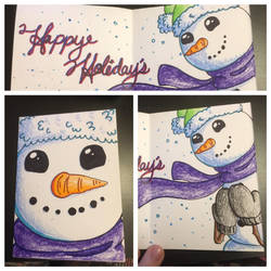Holiday Card Project 2018 by HaileyWailey