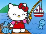 Hello Kitty Fishing by Kittykun123