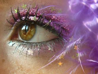 Glitter pink eye 2 by do0dz-stock