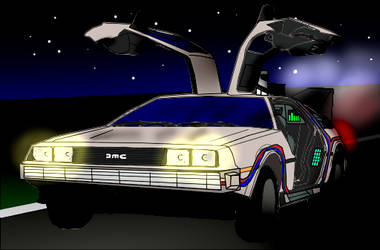 De Lorean by Allplay1
