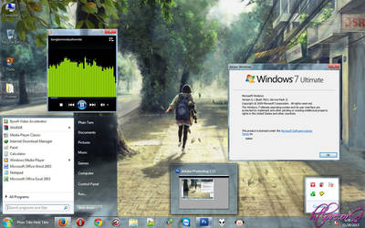 Simple Theme For Windows 7 by htloveorg