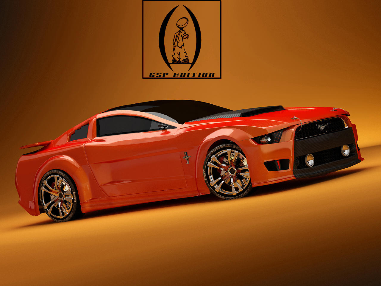 GSP edition Mustang by GstylezProdigy