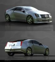 Cadillac CTS COUPE by GstylezProdigy
