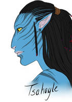 Avatar - Tsahayle by GermanDoodleBug