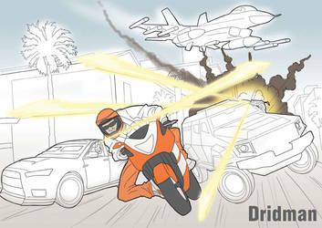 GTA5-Online-Dridman-Sketch by Krbllov