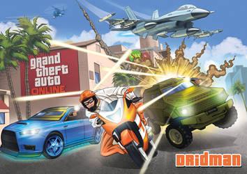 GTA Online Dridman by Krbllov