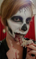 Skull Makeup *Contest Entry* by Hope-Sentinels-Alive