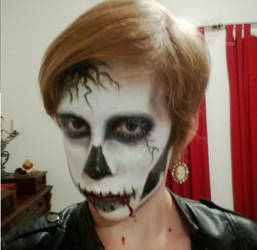 Skull Makeup *Contest Entry* View 2 by Hope-Sentinels-Alive
