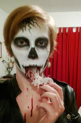 Skull Makeup *Contest Entry* View 4 by Hope-Sentinels-Alive