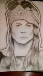 Young Axl Rose by Hope-Sentinels-Alive