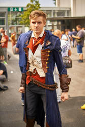 Arno did not bring his props to Gamescom :I by Chroystain