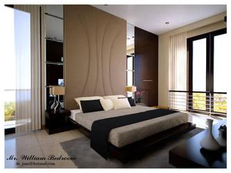 william Bed Room scene by dejunz