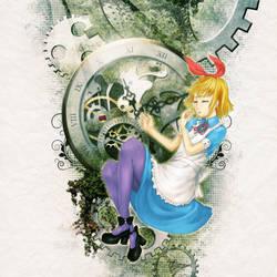 Alice's Adventures in Wonderla by shura117