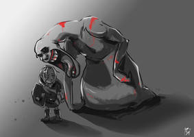LoZ: Dead Hand by br3nna