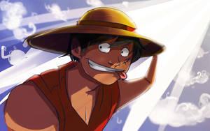 One Piece - Monkey D. Luffy by br3nna