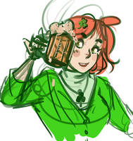 St. Paddy's Day Gal by br3nna