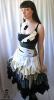 Zombie Ragdoll Dress by smarmy-clothes