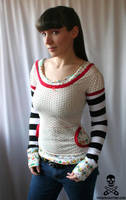 Mushroom Top by smarmy-clothes