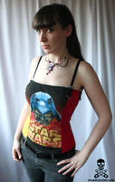 darksided corset by smarmy-clothes