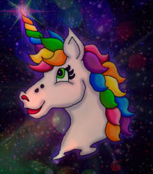 Markie the Unicorn by kaitlynrager