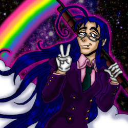 Rainbow in Peace by kaitlynrager