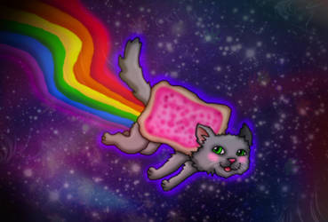 Nyan Cat! by kaitlynrager