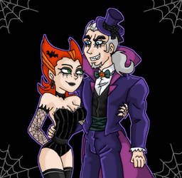 Vlad and Spectra Happy Halloween! by kaitlynrager