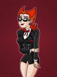 Penelope wear Vlad's jacket by kaitlynrager