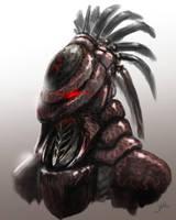 Alien Knight by SerranoArt