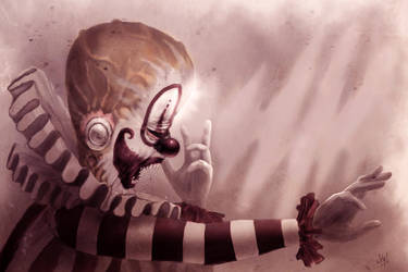Clown by SerranoArt