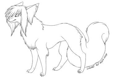 Free lineart 1 by Hercia
