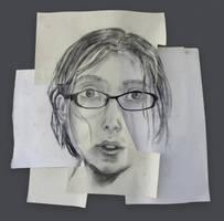 Composite Self Portrait by ninique