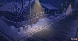 Christmas Night by O-l-i-v-i