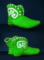 Tranquil Boots - Home Slippers by O-l-i-v-i