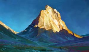 Mountain by O-l-i-v-i