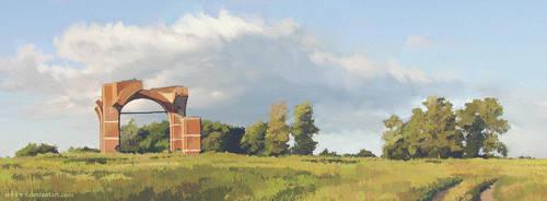 Landscape by O-l-i-v-i