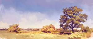 autumn landscape by O-l-i-v-i