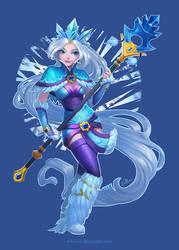 Who calls the Crystal Maiden? by O-l-i-v-i