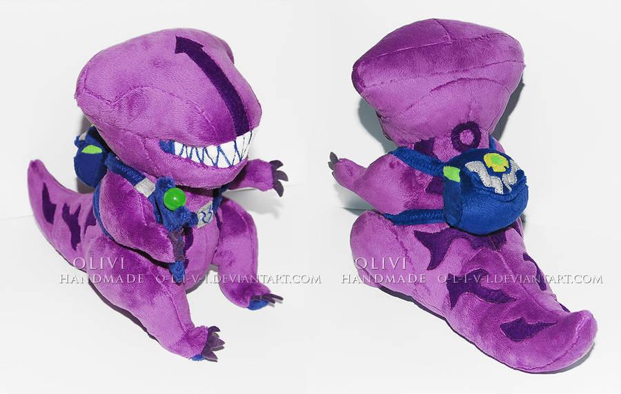 Faceless Rex Plush /Dota2 Courier by O-l-i-v-i